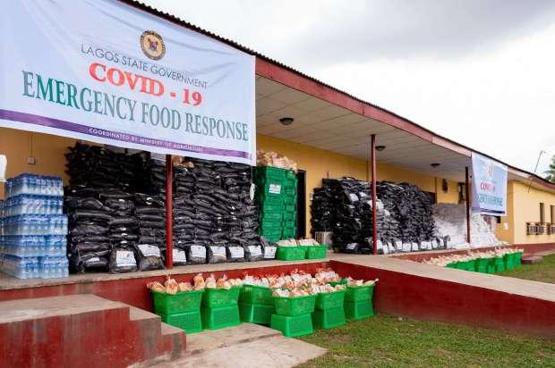 COVID-19 Emergency Food Response lagos