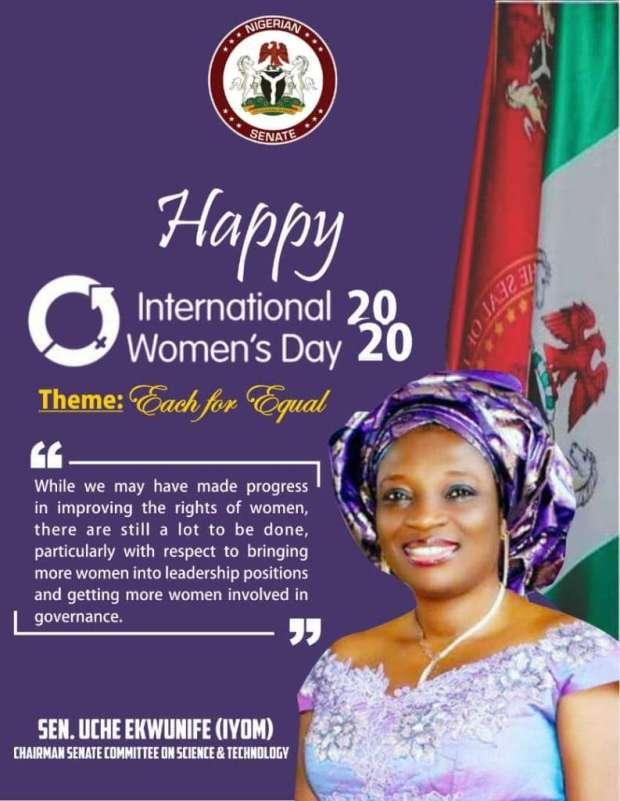 Uche Ekwunife on International Women's Day