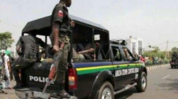 Nigeria Police Van kidnap