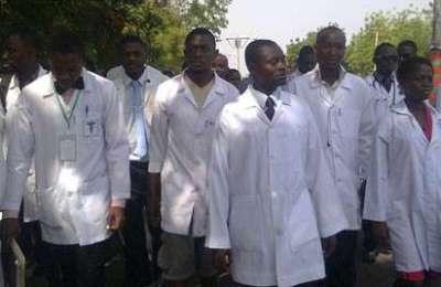 Pliticised Parklane Resident Doctors Strike
