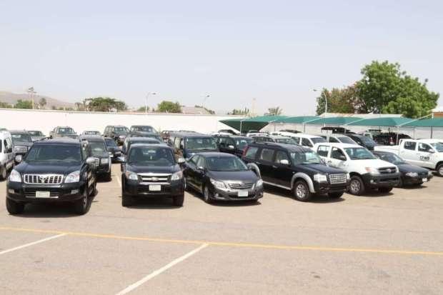 Gombe Refurbishes abandoned vehicles