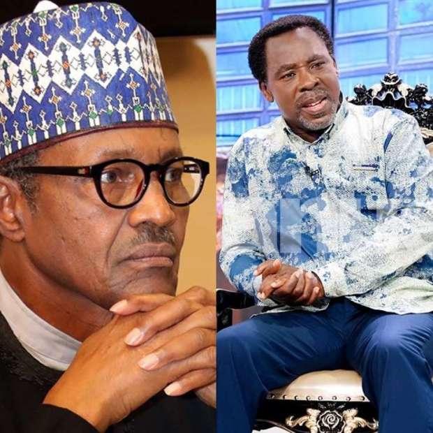 Muhammadu Buhari and TB Joshua