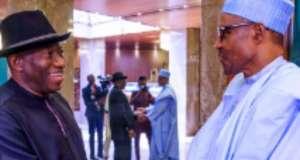 Buhari Names Railway Complex after Goodluck Jonathan 3