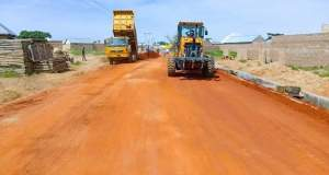 Gombe State Commissioner for Works and Transport Inspects Road Projects 2