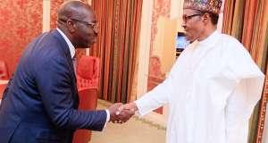 Edo 2020: Godwin Obaseki and President Muhammadu Buhari process