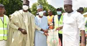 Gombe flood victims receive relief materials from NEDC in Gombe