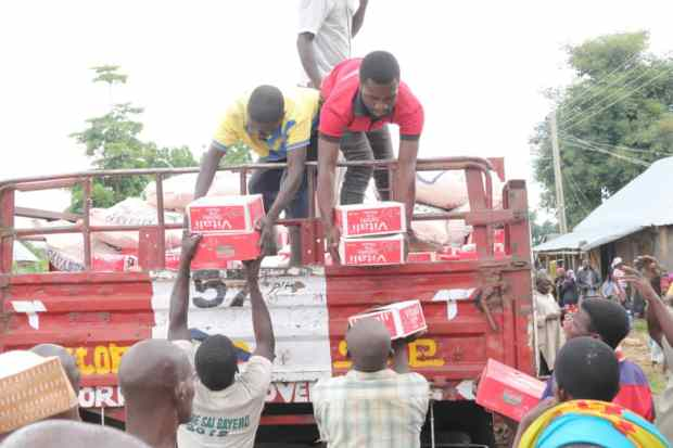 Gombe Government Presents Relief Materials to Victims of Adamawa Ethnic Conflict Taking Refuge in Gombe Communities
