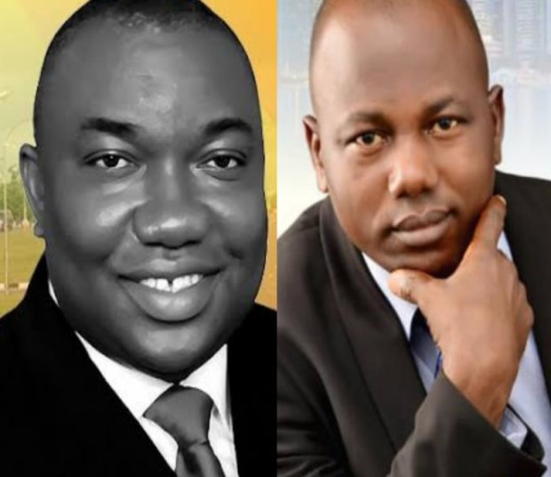 Governor Ifeanyi Ugwuanyi and Barr Ken Ikeh Streetreporters.ng