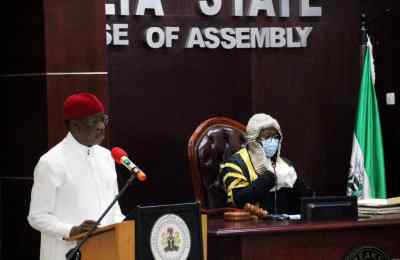 """Okowa Presents N378.48bn """"Budget of Recovery"""" for 2021"""