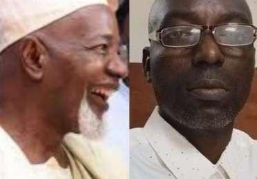Alhaji Balarabe Musa and Awa Bamiji