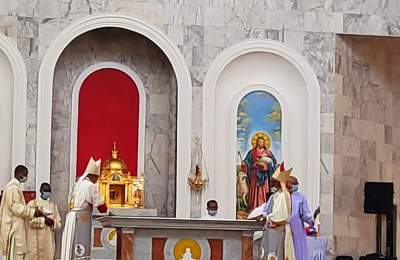 Gov. Ugwuanyi, Nwodo, Obi, Eze, 38 Bishops, Others, Grace Dedication of Nsukka Catholic Cathedral