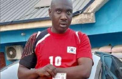Police Nab Notorious Impostor, Mohammed AbdulRahman, in Abuja