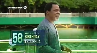 Prophet TB Joshua died before his 58th birthday on June 12
