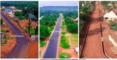 Bello Administration and Infrastructural Revolution: Amazing Sights As Inspection Team Visit Kogi East