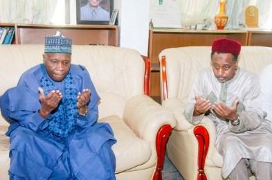 Governor Inuwa Yahaya Pays Condolence Visit to Adamawa State Over Death of Elder Stateman, Ahmed Joda