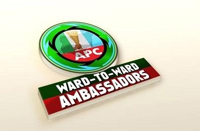 APC Ward to ward ambassadors logo