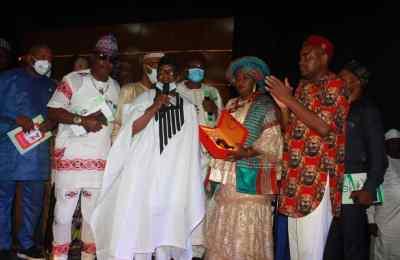 Award for Alabi Kolade David
