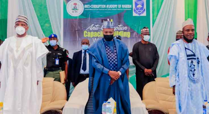 I share in President Buhari's Vision of Creating Corrupt-Free Society