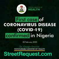 Breaking News: FIRST CASE OF CORONAVIRUS CONFIRMED IN LAGOS