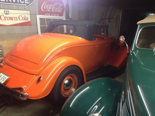 """The """"Confusion"""" '34 Ford roadster."""