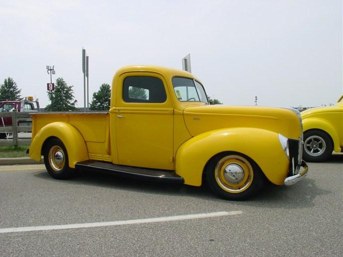 Gary Opitz' '40 Ford Pickup