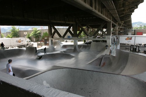 Burnside Skate Park, Portland, Oregon.