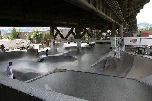 Burnside Skate Park, Portland, Oregon.