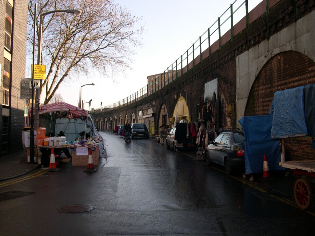 Brixton, London - Shops in the Viaduct