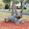 Rabbit Sculpture, Portland Avenue