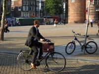 Dutch city bike suit