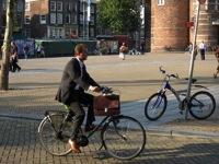 Dutch city bike suit