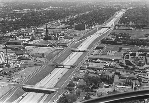 (Interstate 94 in 1967 via MNHS)