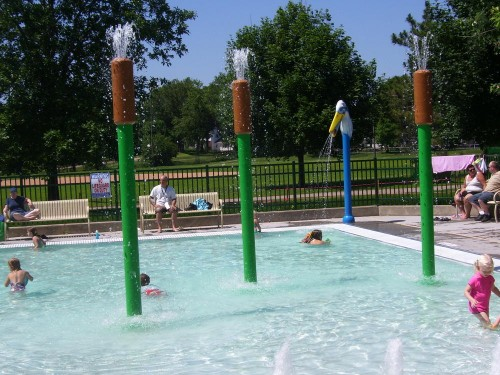 New splash pad