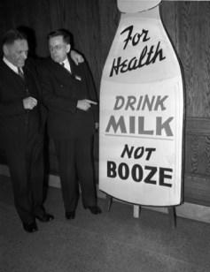 Drink Milk Not Booze