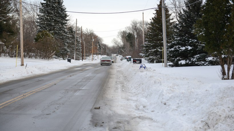 Koehler Road in Vadnais Heights - Become a vehicular cyclist and you too can ride along here.