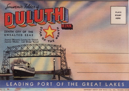 Duluth Postcard 1938