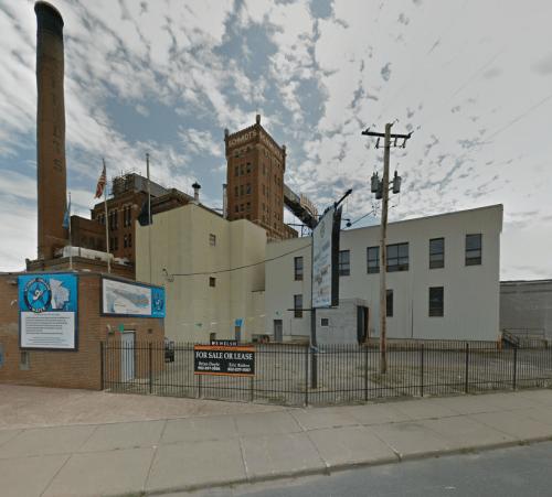 Schmidt's Brewery Castle, via Google Streetview