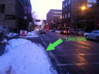 mpls-1st-ave-bike-lane-snow