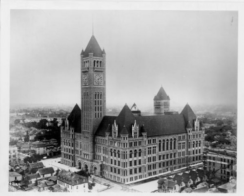 M0146, minneapolis city hall soon after completion, hclib photo collection