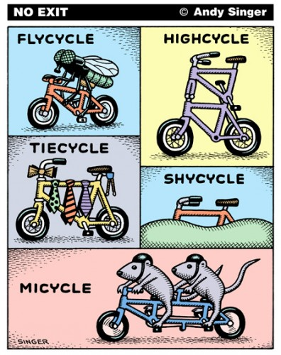 Flycycle Highcycle Tiecycle Shycycle Micycle