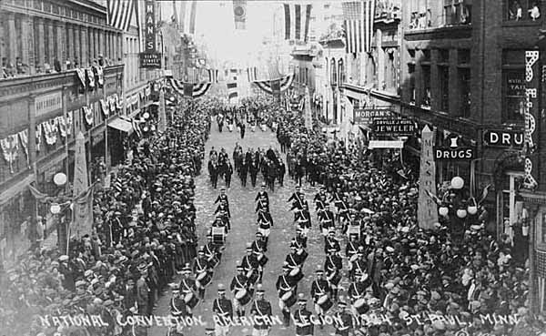 st paul parade 1924