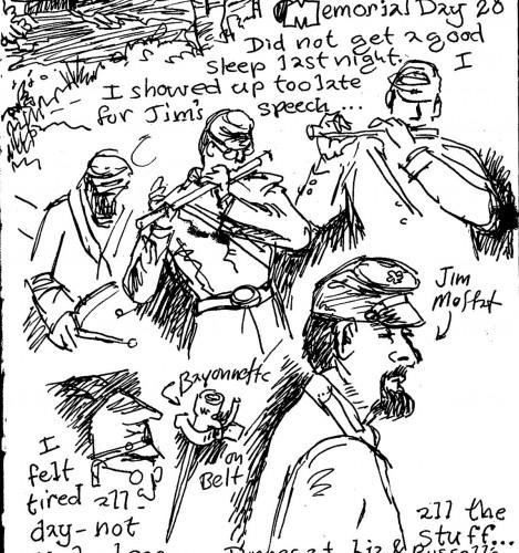 Sunday Sketch, Memorial Day Edition