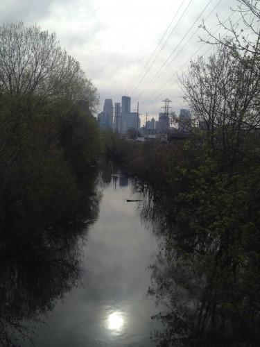 Optimistic Basset Creek at Van White