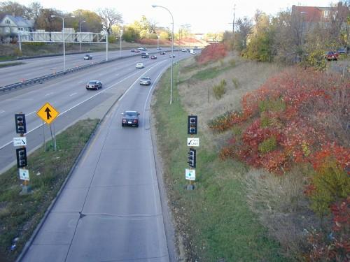 Ramp Meter at I-35W