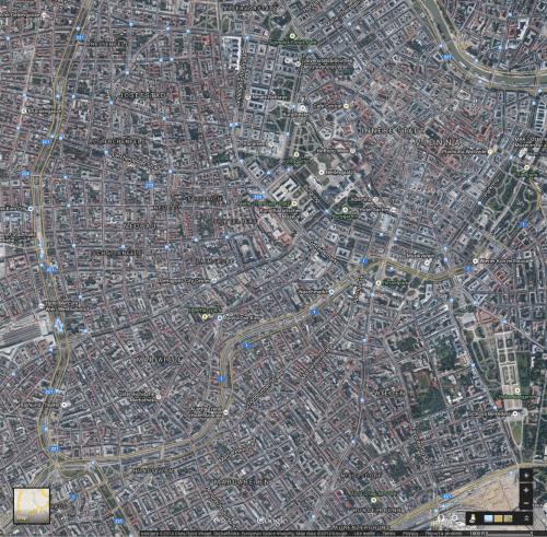 Central Vienna