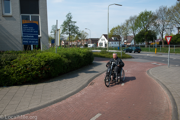 Netherlands handcycle