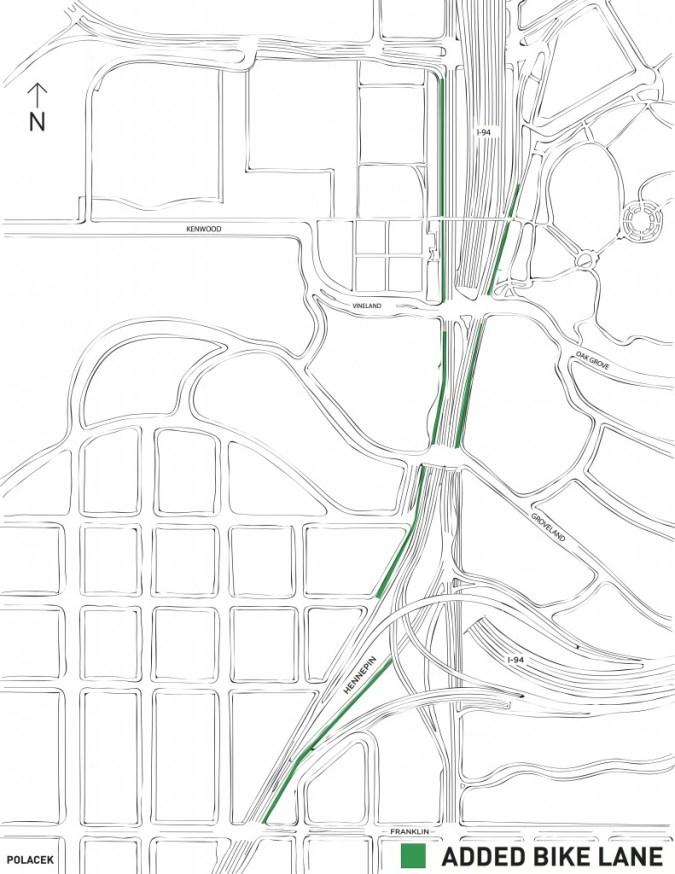 add bike lanes