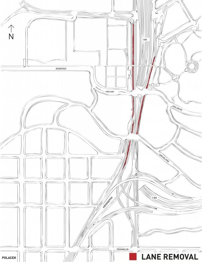 lane removal