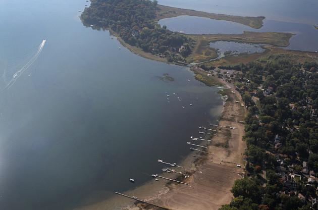 White Bear Lake, photo via MPR news