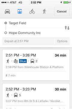 Transit Options